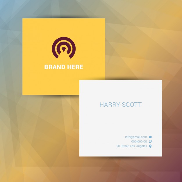 Square business cards meto print quick colourmoves
